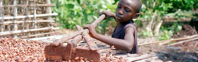 Esclavos del chocolate